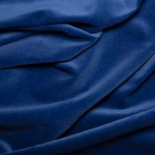 Royal Blue 100% Cotton Velvet Fabric